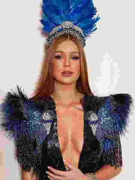 Marina Ruy Barbosa usa look decotado para Baile da Vogue - Reprodução/Instagram/marinaruybarbosa/
