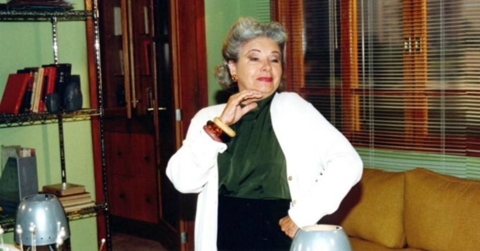 """Eloísa Mafalda no programa """"O Belo e as Feras"""" (1999)"""