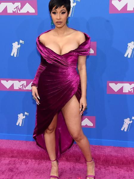 A rapper americana Cardi B - Getty Images