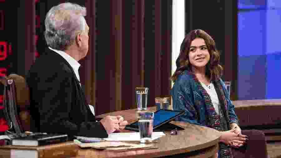 """Maisa participa do """"Conversa com Bial"""", que vai ao ar nesta quinta-feira (6) - Fabio Rocha/Divulgação/TV Globo"""