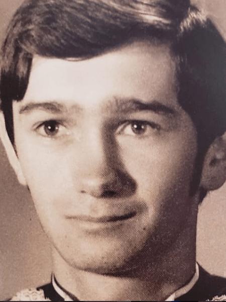 Serginho Groisman quando se formou em jornalismo, em 1977 - Reprodução/Instagram