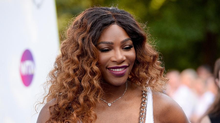 """Serena Williams durante o Women""""s Tennis Association, em Londres - Getty Images"""