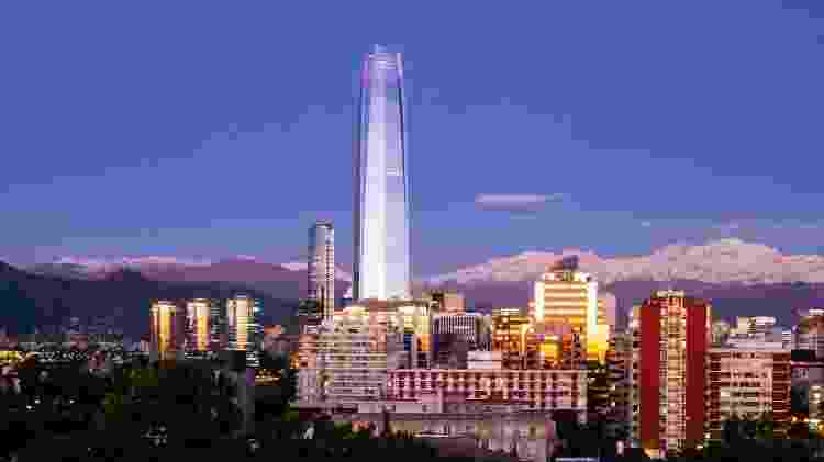 Santiago do Chile - Getty Images - Getty Images