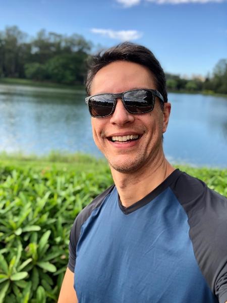 Apresentador Sergio Aguiar faz turismo em São Paulo  - Reprodução/Instagram