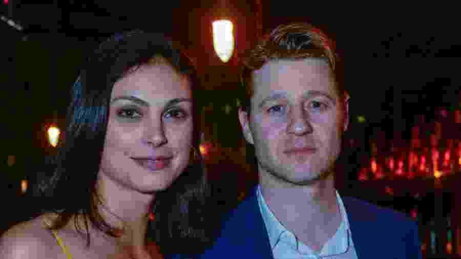A brasileira Morena Baccarin e o marido, o ator Ben Mackenzie - Divulgação