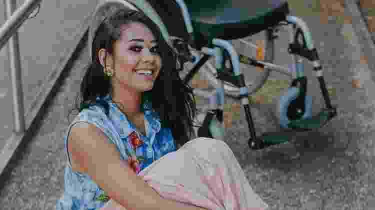 Após seis meses em cadeira de rodas, Layane decidiu contar sua história - Bruna Leite