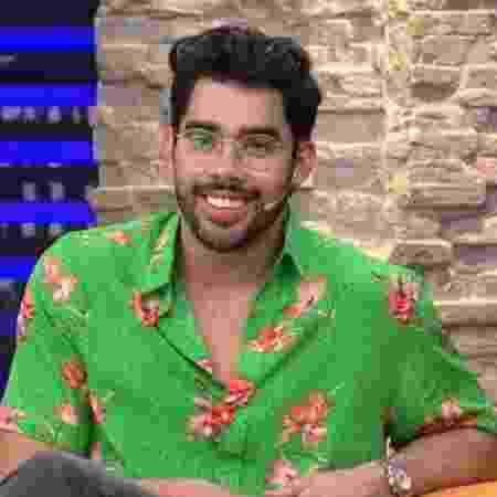"""Gabriel Diniz no """"Luciana by Night""""  - Reprodução/RedeTV!"""