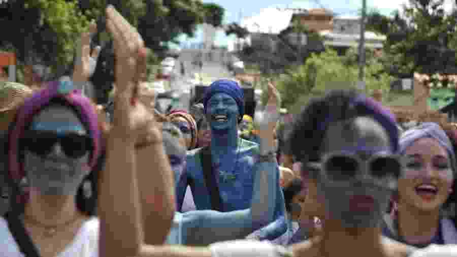Desfile de 2018 do Pena de Pavão de Krishna, o PPK, na região do Cristo do Barreiro, em Belo Horizonte - Alexandre Guzanshe/Belotur/Divulgação