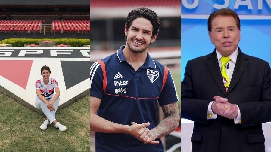 Final entre São Paulo e Corinthians divide famílias como a de Silvio Santos