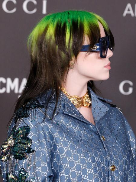 02.11.2019 - Billie Eilish no LACMA Art + Film Gala - Getty Images