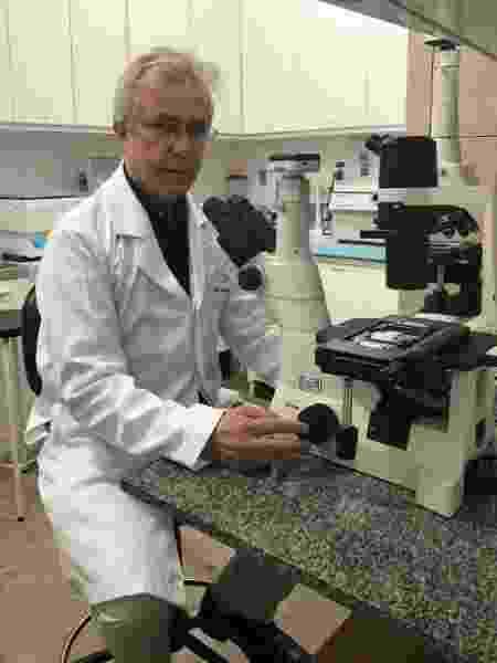 Roque Almeida, imunologista e chefe do Laboratório de Biologia Molecular do HU da UFS - Arquivo pessoal