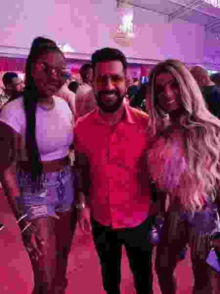 Ludmilla convidou Dennis DJ para tocar na festa de Brunna Gonçalves - Divulgação