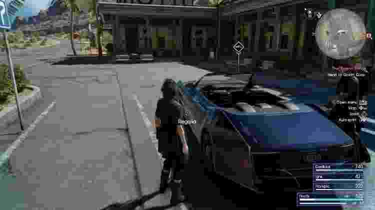 FF XV Carro - Reprodução - Reprodução