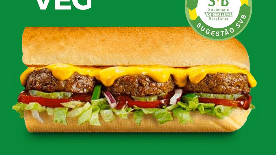 Novo lanche vegano do Subway - Reprodução