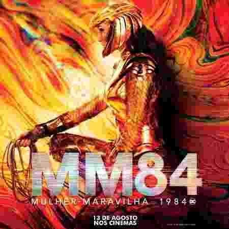 Gal Gadot no pôster de 'Mulher-Maravilha 1984' - Divulgação - Divulgação