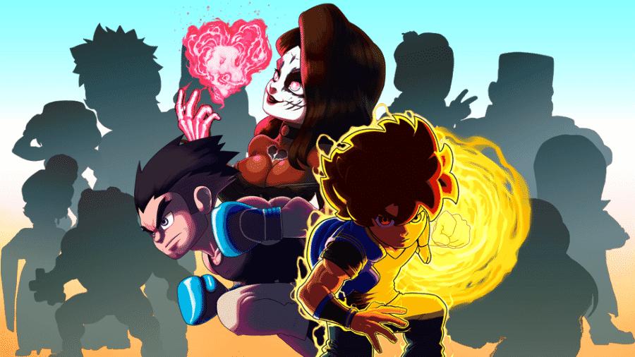 Pocket Bravery é um game brasileiro inspirado em jogos de luta clássicos - Divulgação/Statera Studios