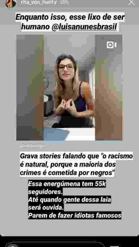 Stories da Luana Piovani - Reprodução / Instagram - Reprodução / Instagram