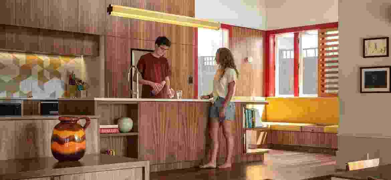 Valorização da cozinha, do conceito aberto e da iluminação natural estão entre as tendências - Simon Devitt