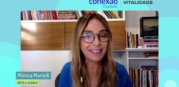 """Mônica Martelli: """"Entrei na menopausa, mas libido está como de adolescente"""" – UOL"""
