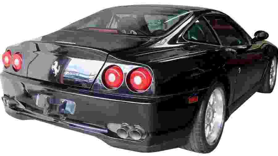 Ferrari 550 Maranello 2000 de Eddie Van Halen - Divulgação