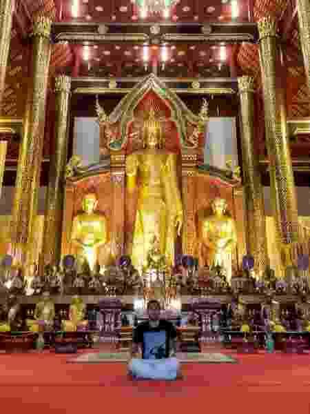 Luís de Magalhães na Tailândia - Arquivo pessoal - Arquivo pessoal