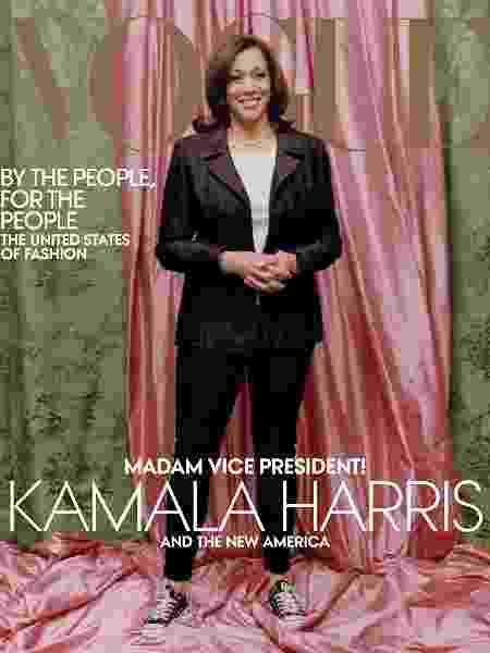 Outra versão da capa para a revista - Reprodução - Reprodução