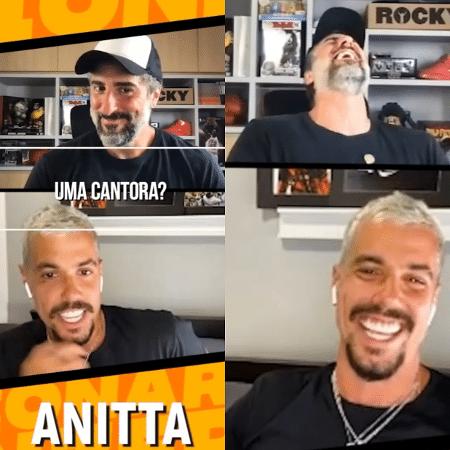 Lipe Ribeiro fala sobre Anitta em entrevista a Mion - Reprodução/Instagram