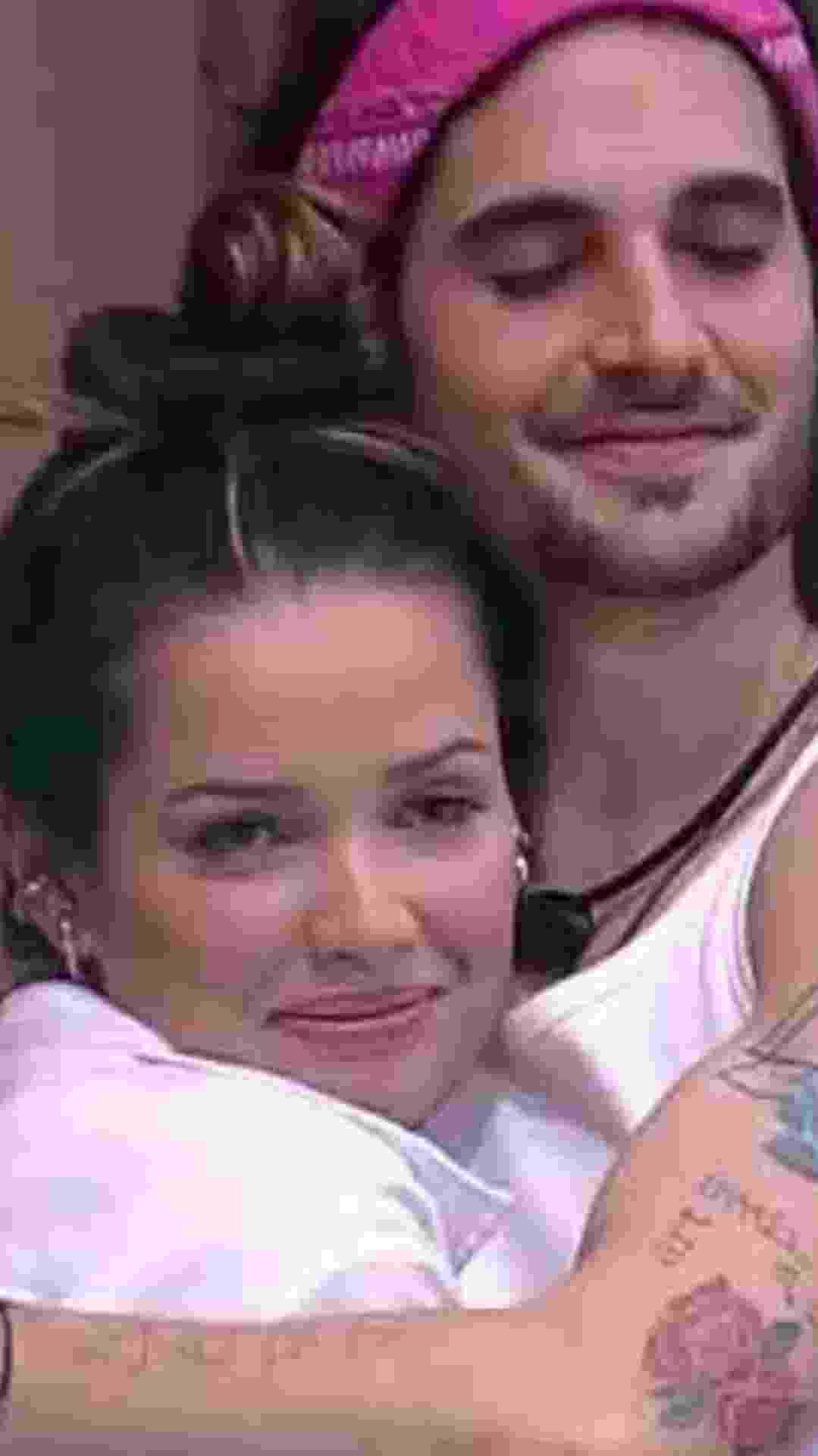 Fiuk e Juliette - Reprodução/TV Globo