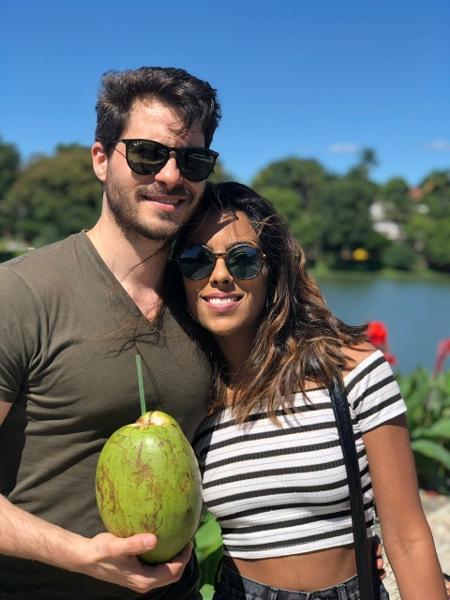 Mariana e António não se veem pessoalmente há um ano. Ele está em Lisboa, ela em Belo Horizonte - arquivo pessoal