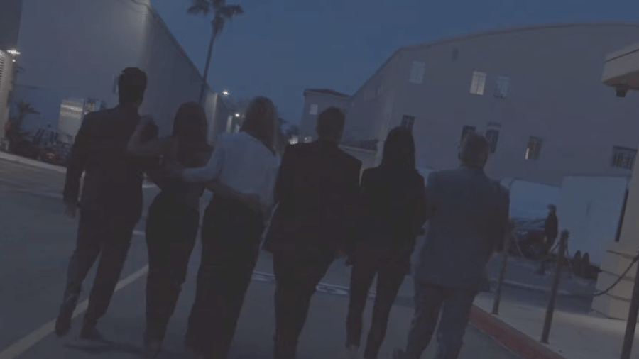 """O elenco de """"Friends"""" reunido - Reprodução/YouTube"""