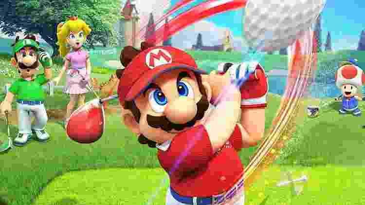 Mario Golf Super Rush - Divulgação/Nintendo - Divulgação/Nintendo