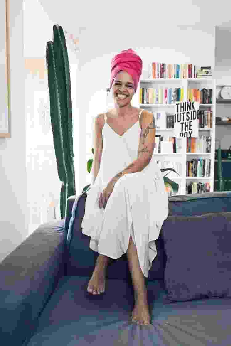Paulinha em seu cantinho em Salvador - Arquivo Pessoal - Arquivo Pessoal