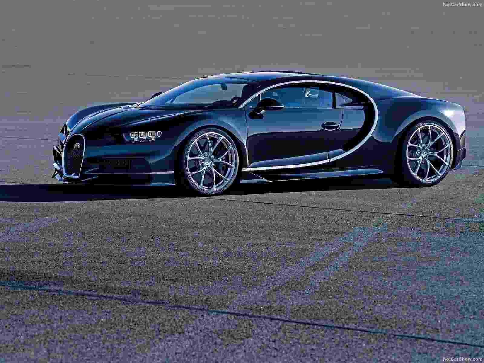 Bugatti Chiron - Divulgação
