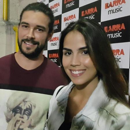 Pérola Faria e Bernardo Velasco - Ana Cora Lima /UOL
