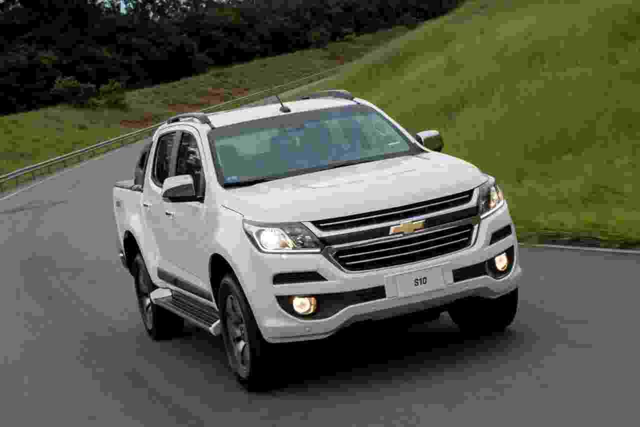Chevrolet S10 LTZ Flex 4x4 2017 - Divulgação