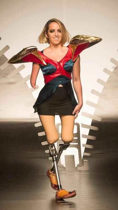 Foto da quinta edição do Concurso Moda Inclusiva, em novembro de 2013 - Rodrigo Capote/UOL