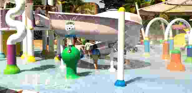 brinquedo no Beach Park - Vivian Ortiz/UOL - Vivian Ortiz/UOL
