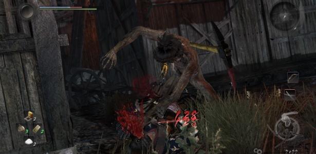 """Mesmo com características diferentes, """"Nioh"""" é um game difícil assim como """"Dark Souls"""": prepare-se para morrer muito - Reprodução"""