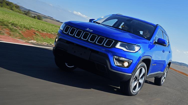 Jeep Compass Longitude 4x4 Diesel - Murilo Góes/UOL - Murilo Góes/UOL