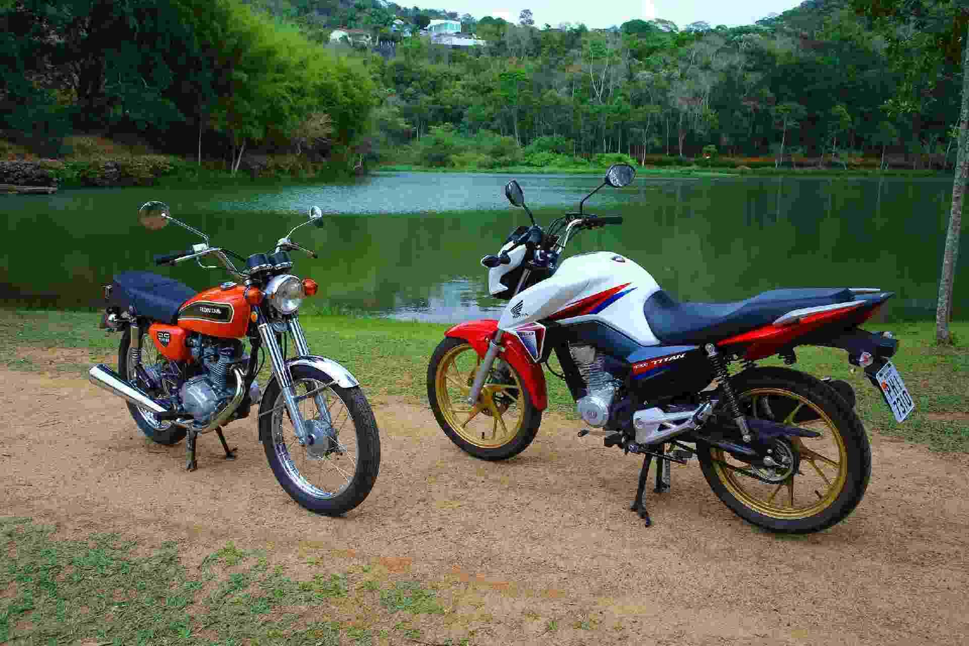 Honda CG 160 Titan 40 anos - Infomoto