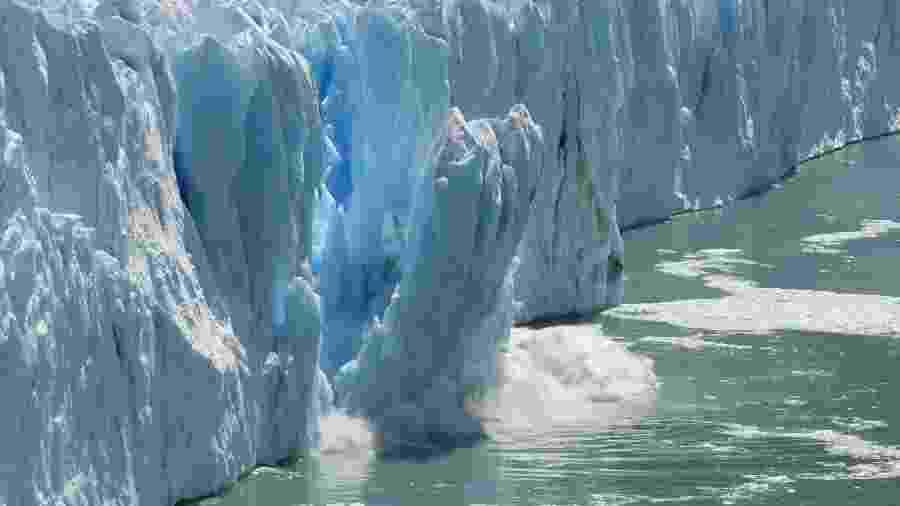 Calotas de gelo derretendo - Getty Images