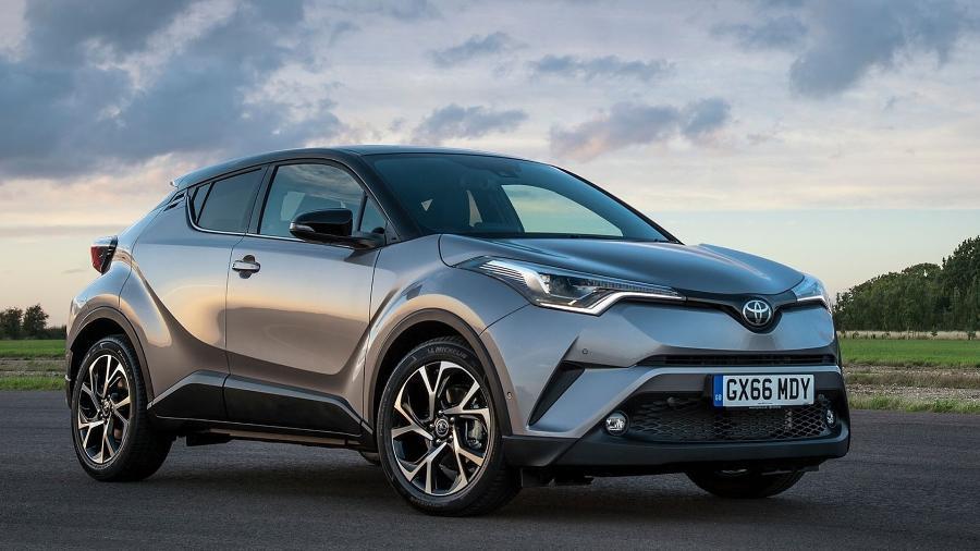 Toyota C-HR se inspira no Honda HR-V até na sopa de letrinhas do nome... a briga será grande - Divulgação
