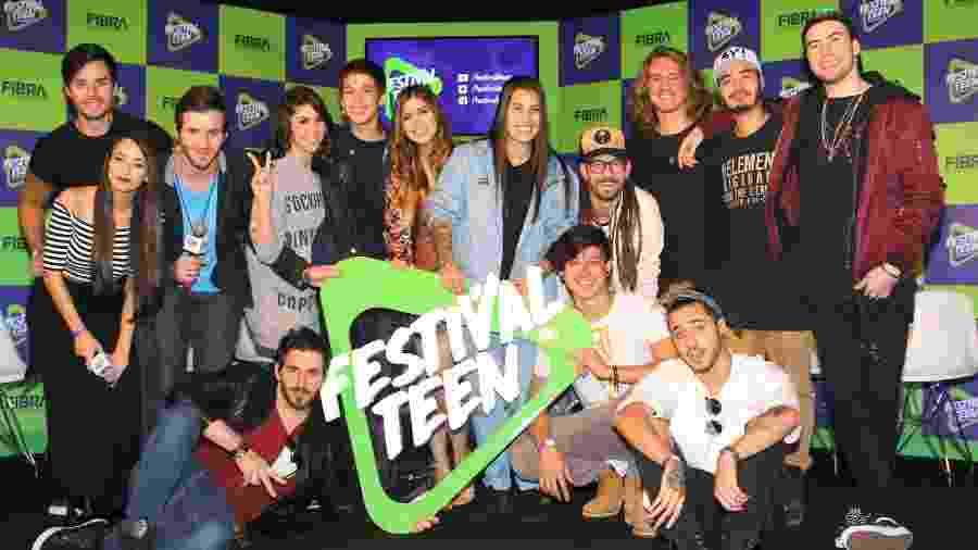 As atrações do Festival Teen, que acontece em São Paulo no dia 7 de outubro - Thiago Duran/AgNews