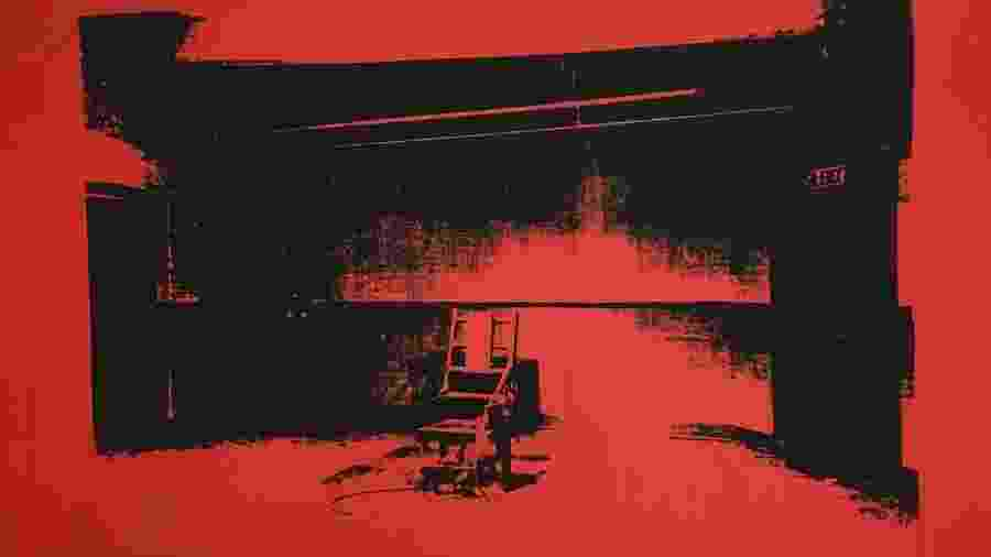 """Little Electric Chair"", de Andy Warhol - Reprodução"