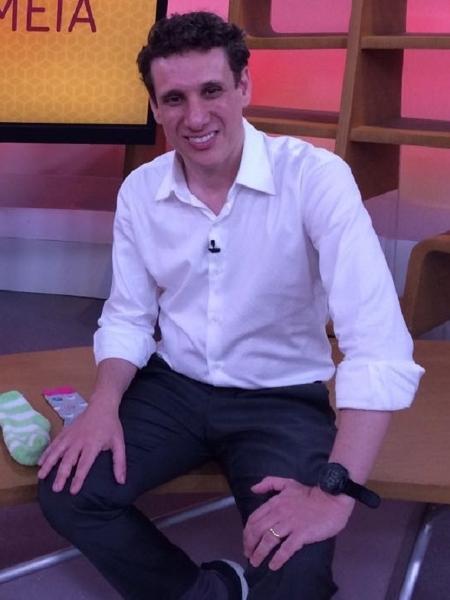 """Samy Dana estreia esta noite uma coluna de economia no """"Jornal da Globo"""" - Divulgação/TV Globo"""