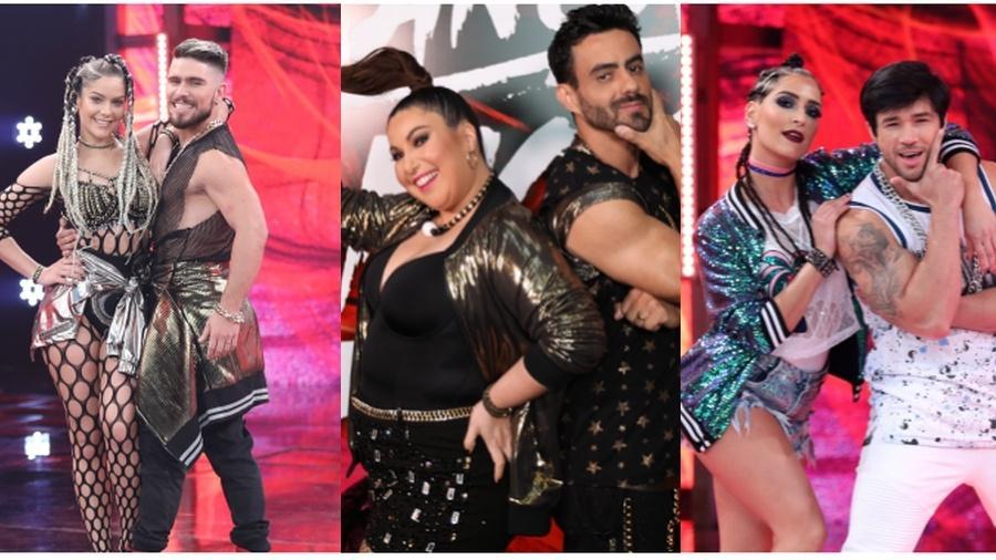 Isabella Santoni, Maria Joana e Mariana Xavier empatam na Dança dos Famosos - TV Globo