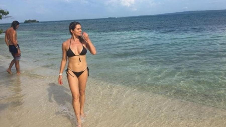 Leticia Spiller na Colômbia - Reprodução/Instagram/arealspiller