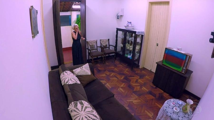 """Ana Maria Braga volta à sua casa em quadro especial do """"Caldeirão do Huck"""" - Reprodução/GShow"""