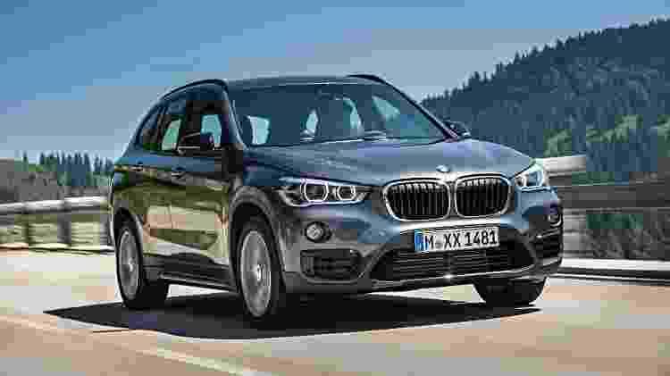 BMW X1 de segunda geração oferece mais espaço interno que modelo anterior por contar com motor transversal - Divulgação