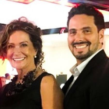 Ieda e o namorado, o advogado Marcelo Gomes, estão juntos há três meses - Arquivo pessoal